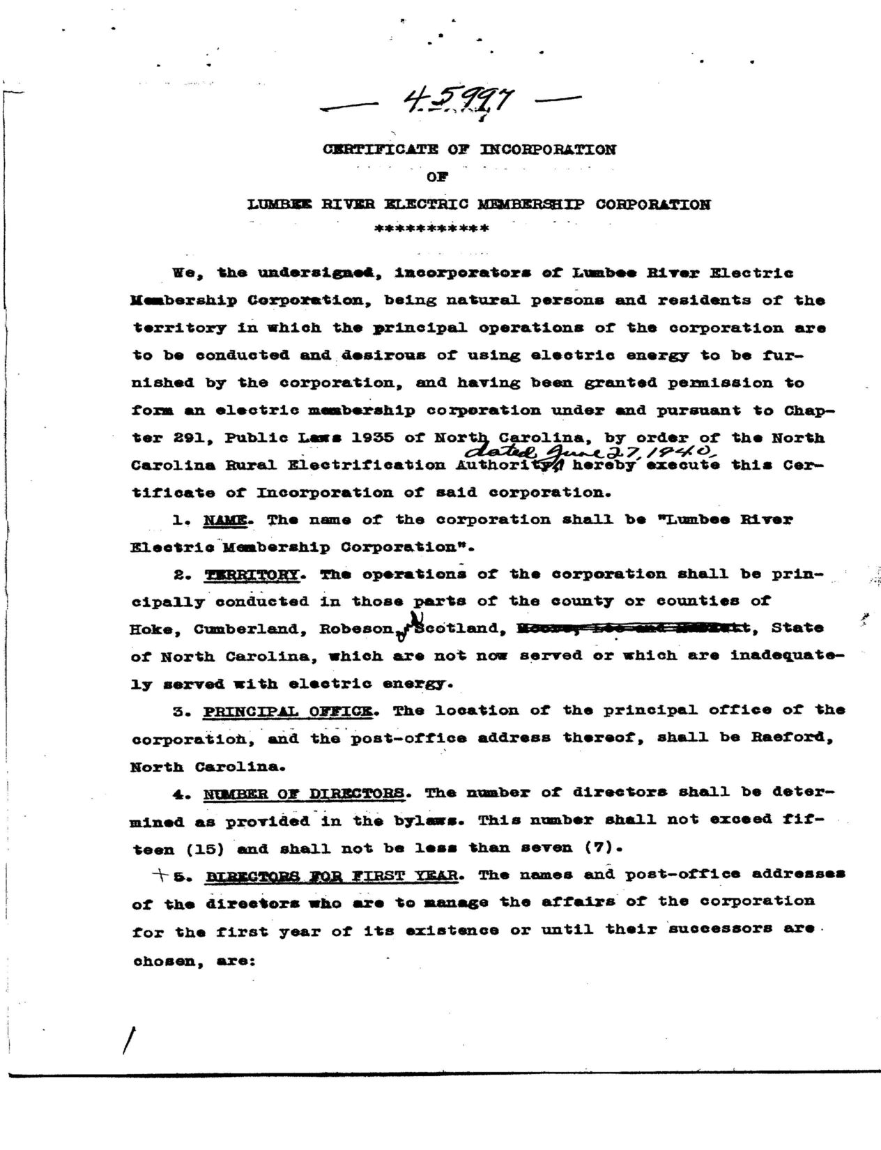 Articles of incorporation lumbee river emc articles of incorporation altavistaventures Images